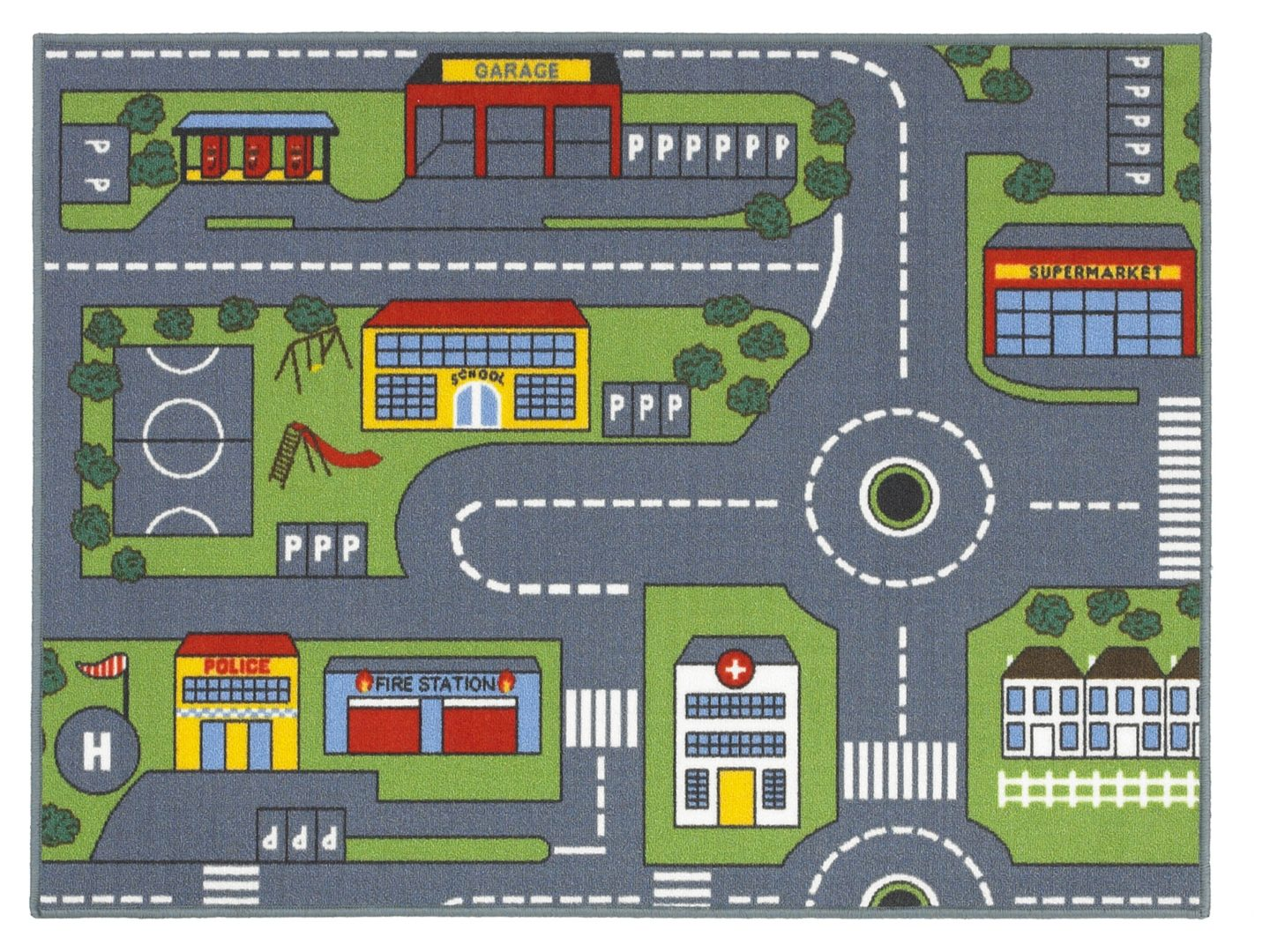 Buy Your Kids Rugs For Christmas Fludes Carpets - Kids road map