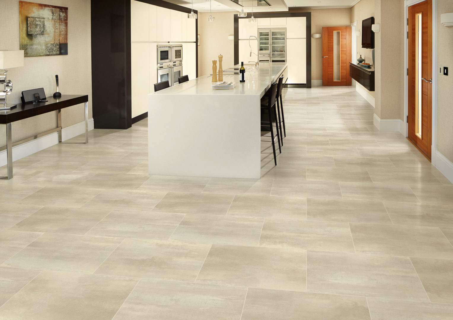 Karndean designflooring fludes carpets for New kitchen floor tiles