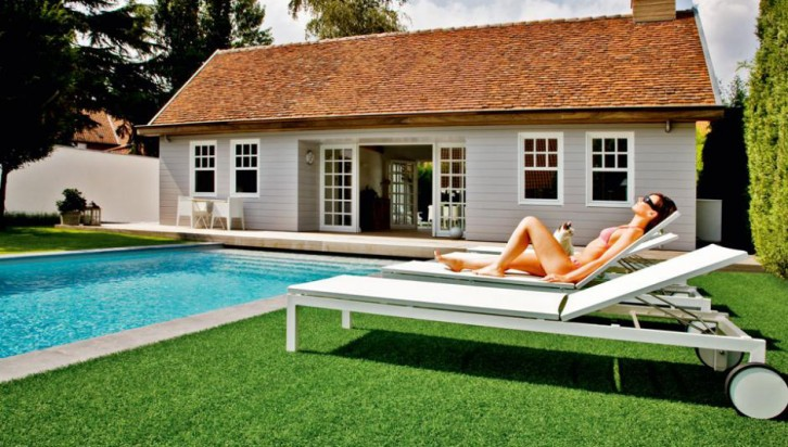 Naturally artificial grass