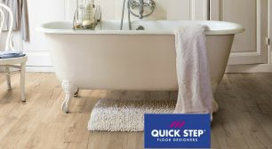 Bathroom Laminate flooring from Quickstep